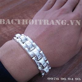 Lắc đeo tay bạc nam